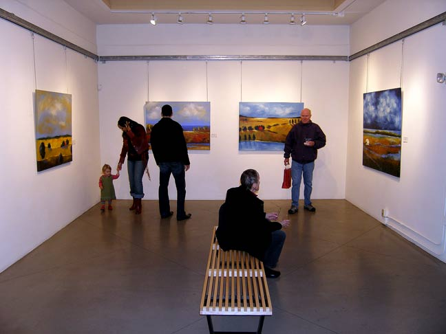 hackett freedman lincart somarts hang art gallery ybca san