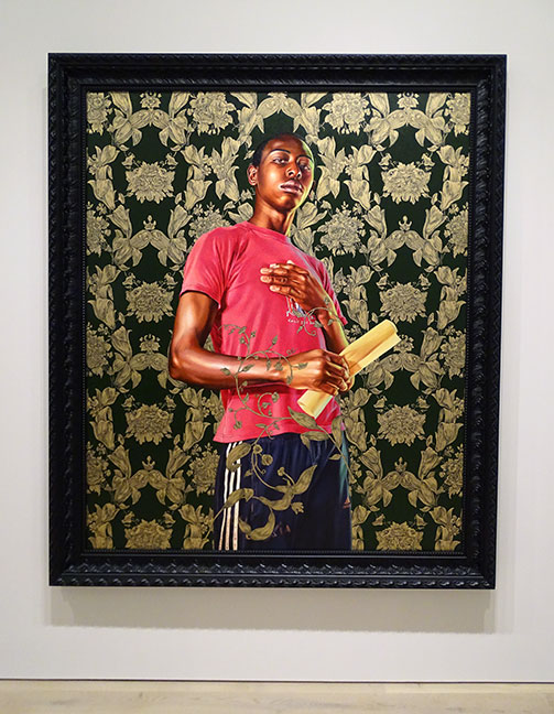 Kehinde Wiley artist art