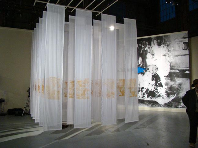 Fabric Exhibition Stand Lighting : Braunstein quay micaela togonon somarts fabric