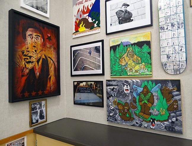 Bigfoot artist art