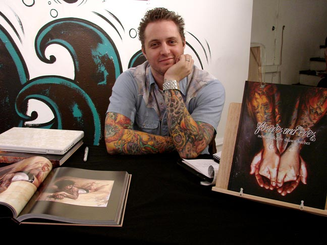 "acclaimed ""Tattooed Portraits."" The book also includes hundreds of"