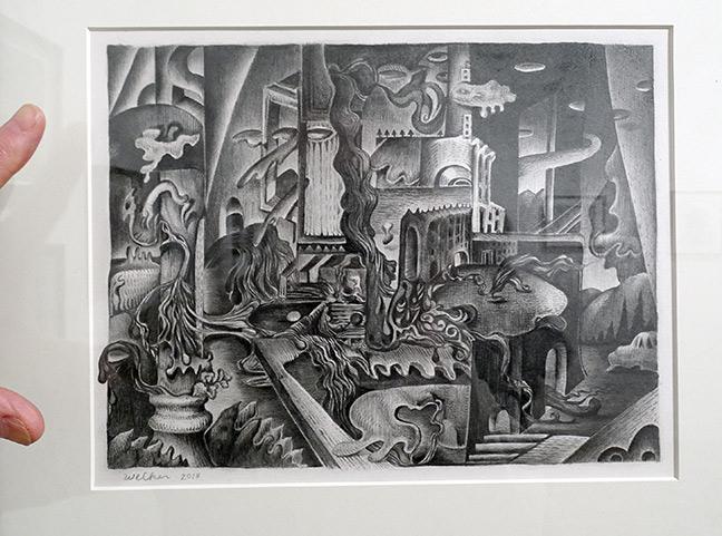 David Welker artist art