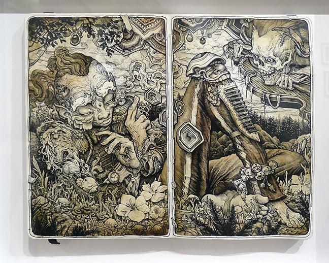 N.C. Winters artist art