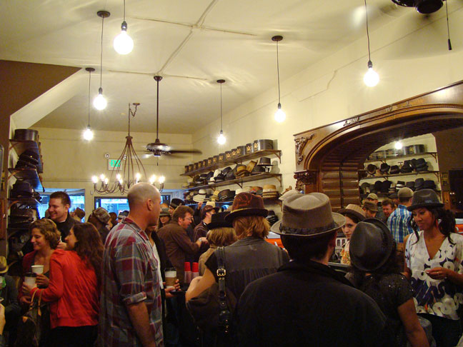 Goorin Brothers Hat Shop on Haight Street