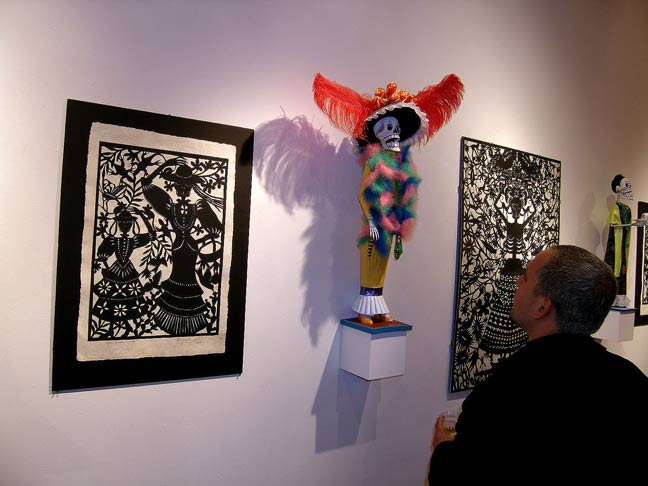 day of the dead artists. Day of the Dead show at