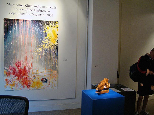 Mary Anne Kluth and Laurel Roth art