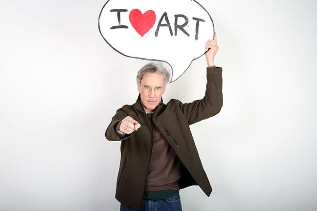 Alan Bamberger art consultant and advisor