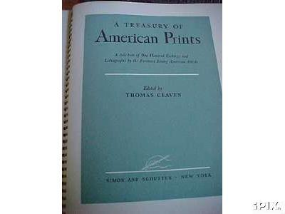 1939  PARTIAL SET A Treasury of American Prints Edited by Thomas Craven