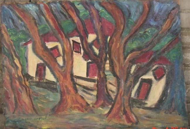 William H Johnson African American Artist Painting On Ebay